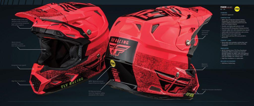 Fly Racing Toxin Helmet
