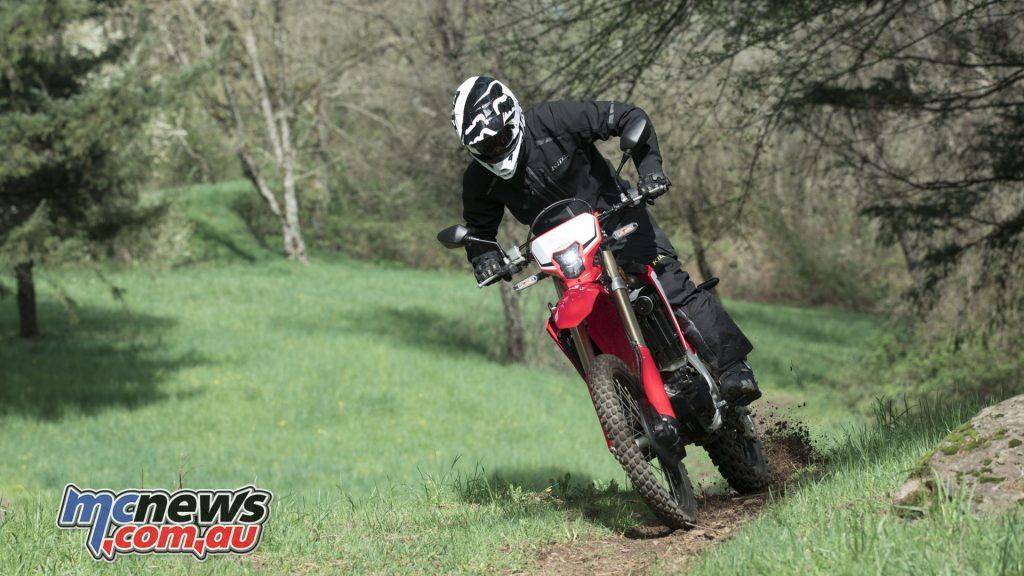 Honda CRFL Action