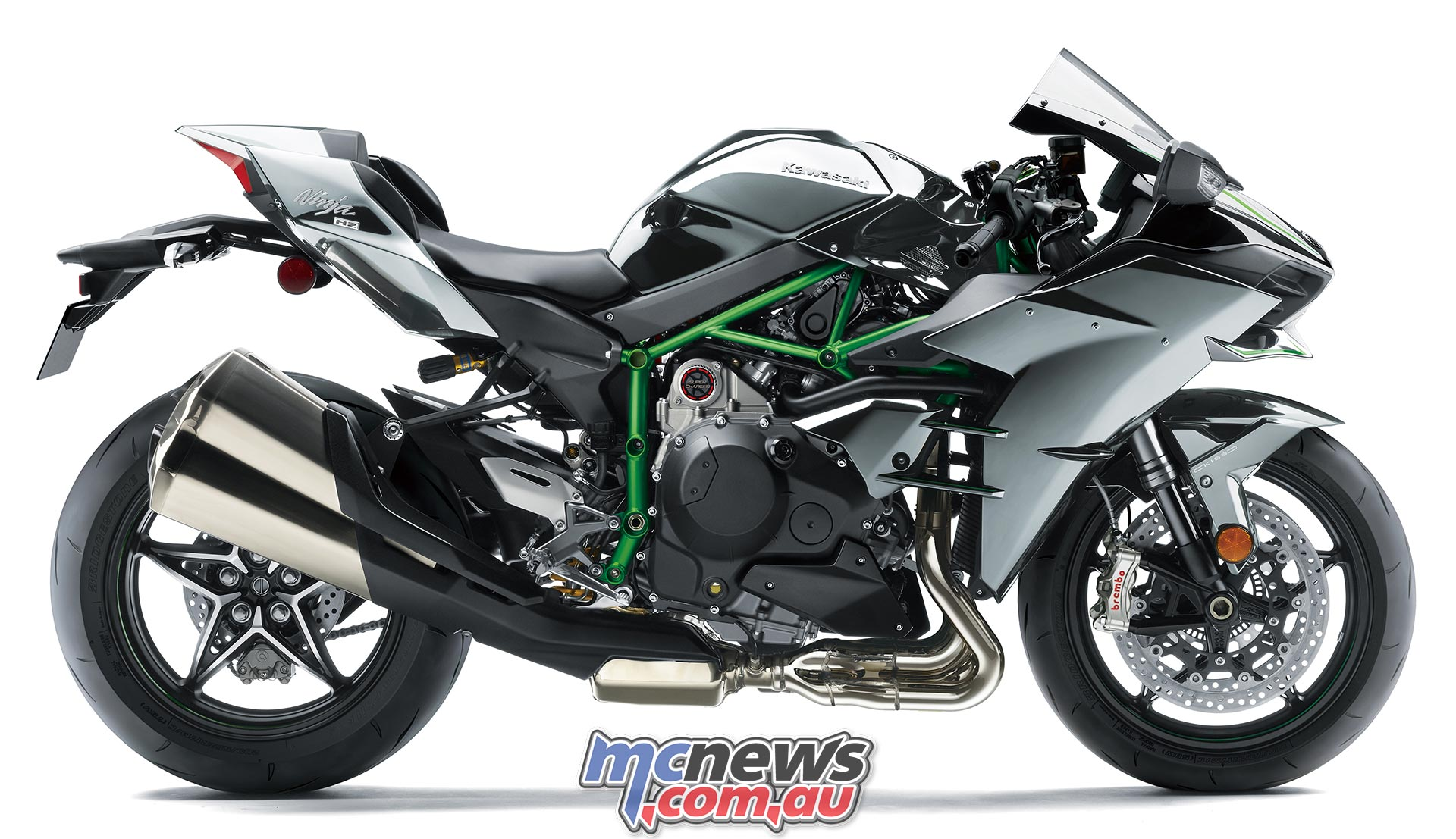 A Motogp Bike Going Head To Head With A Kawasaki H2r Mcnewscomau
