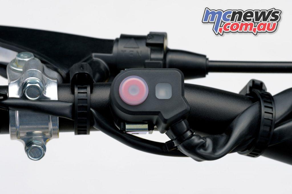 Suzuki RM ZL Indicator light