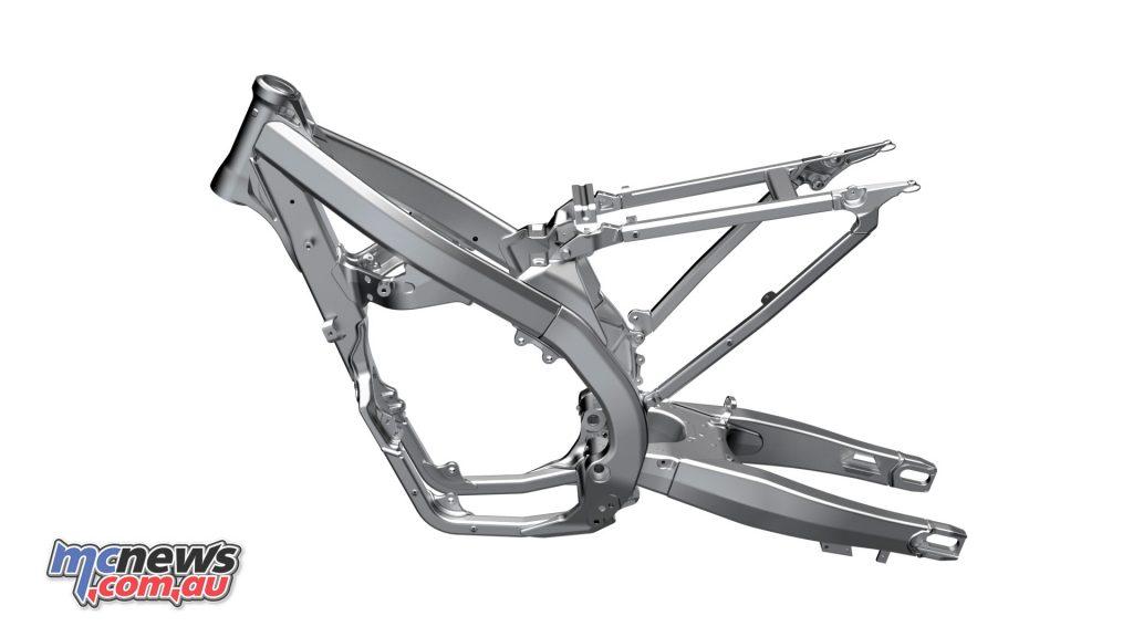Suzuki RM ZL new frame