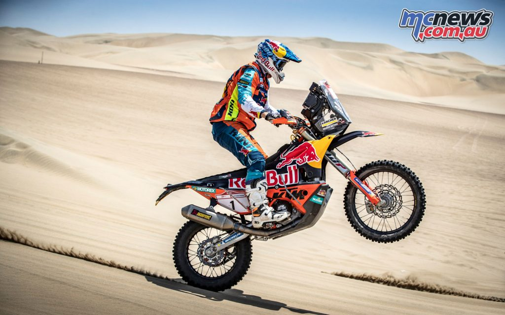 Matthias Walkner Red Bull KTM Factory Racing Desafio Inca