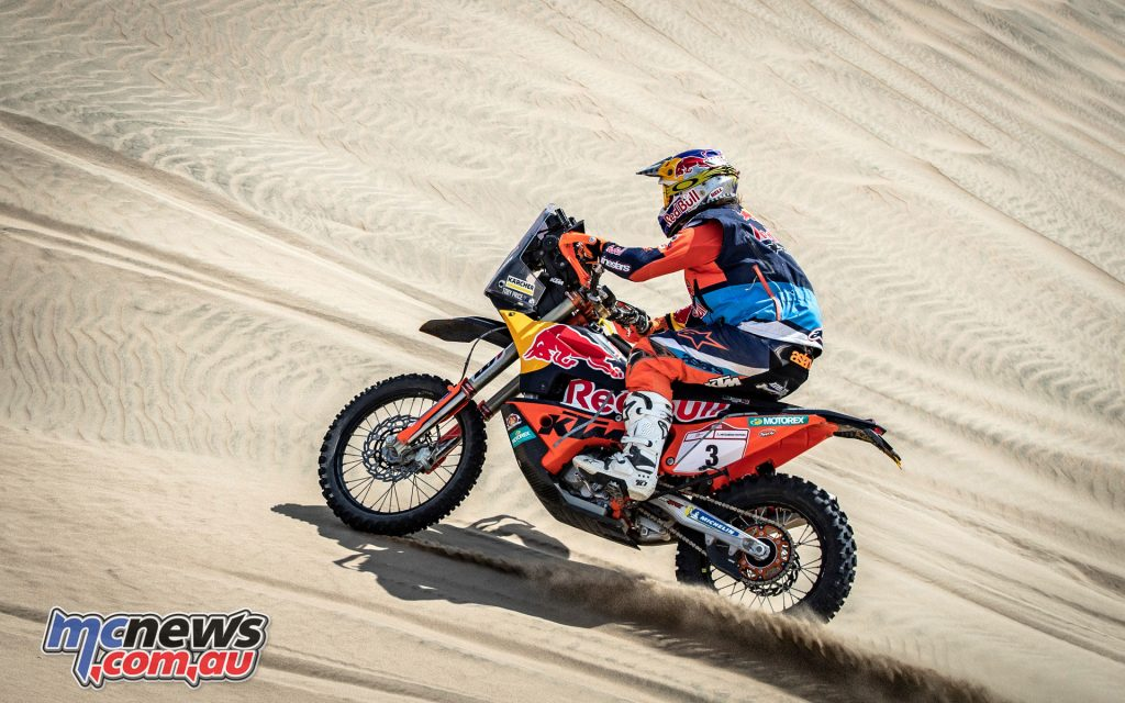 Toby Price Red Bull KTM Factory Racing Desafio Inca