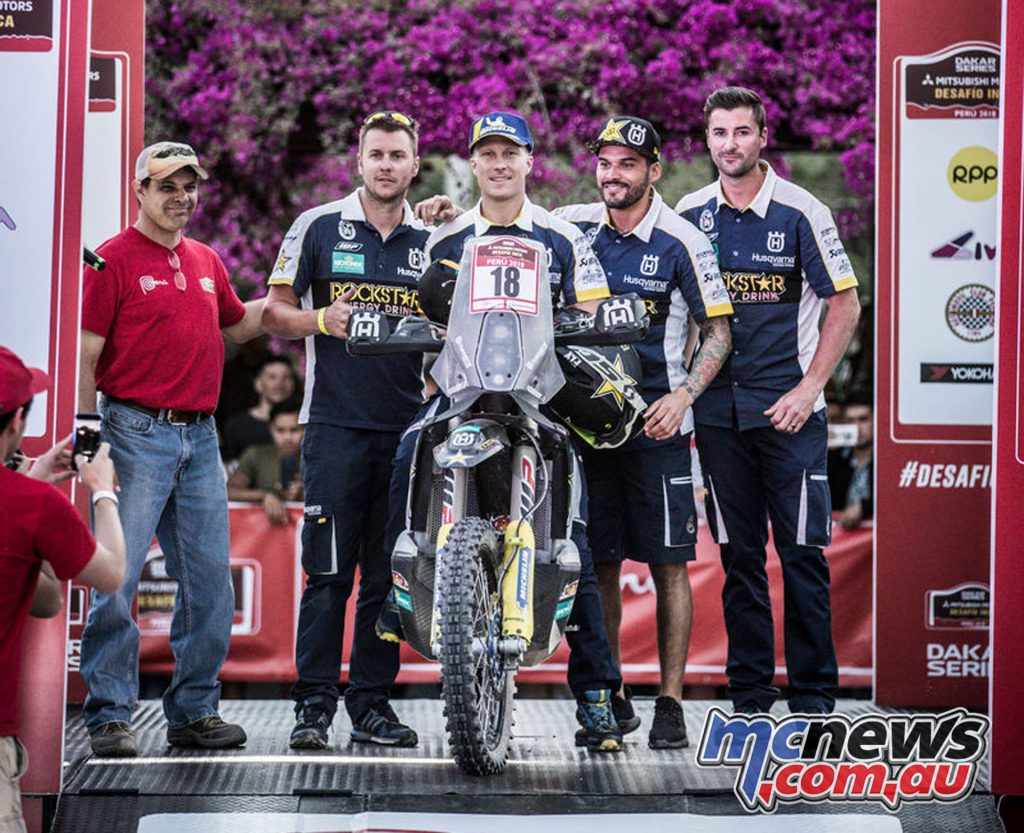 Andrew.Short Rockstar Energy Husqvarna Factory Racing Desafio Inca