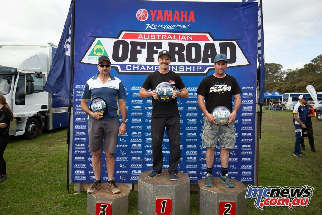 AORC Rnd Kingston Masters Podium Rnd