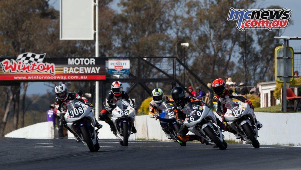 ASBK TBG Rnd Winton GP Junior Cup