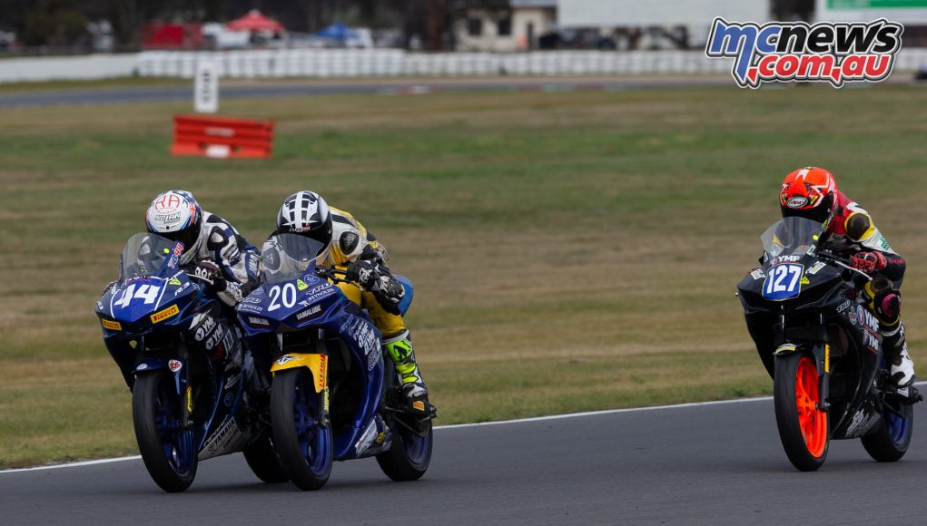 ASBK TBG Rnd Winton Supersport field