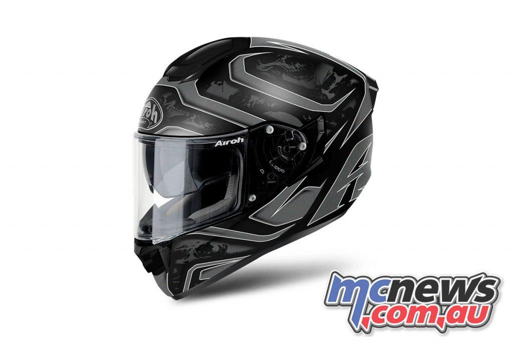 Airoh ST Helmet Dude Anthracite Matt Left Angle