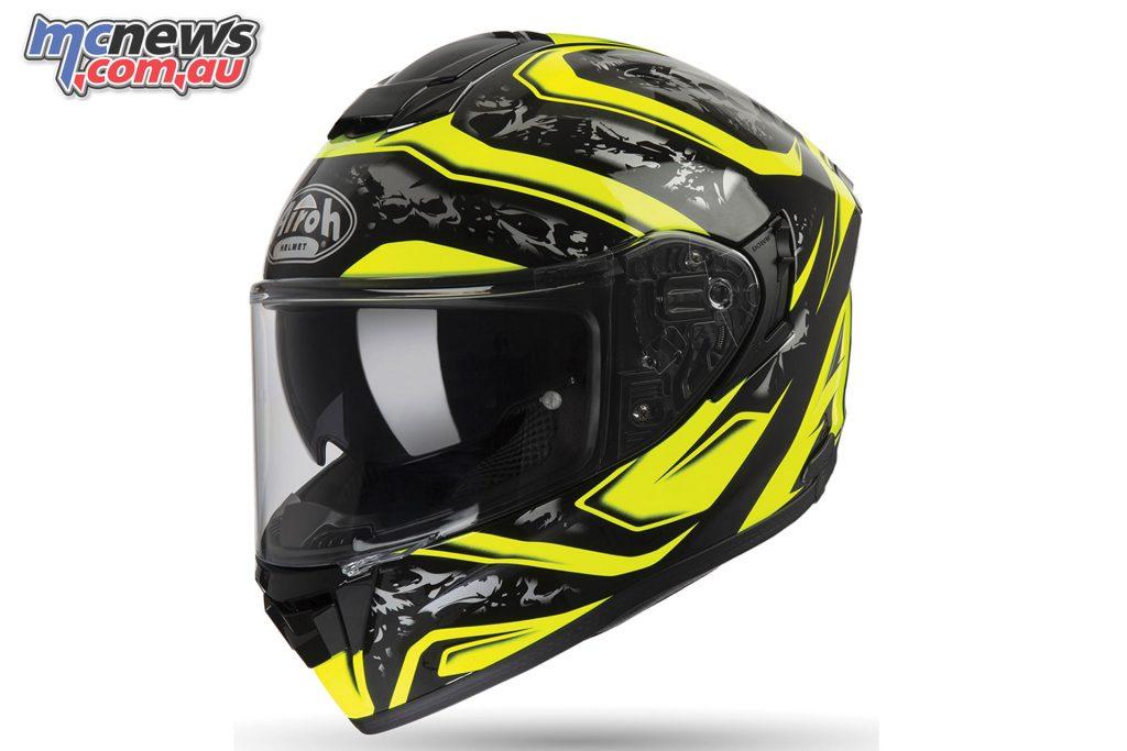 Airoh ST Helmet Dude Yellow Gloss