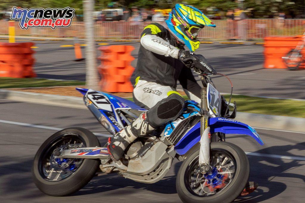 Australian Pro Open SuperMoto Damon Gibbons