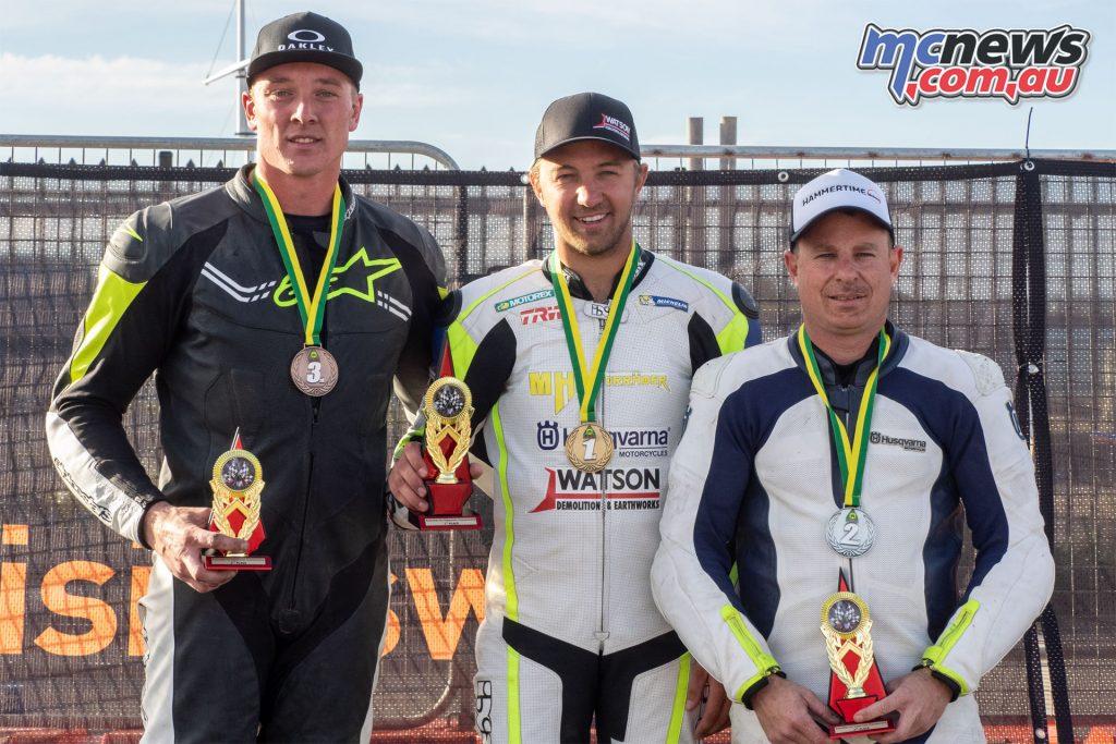 Australian Pro Open SuperMoto Gibbons Class Attard