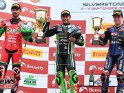 BSB Silverstone Sat Superbike Race Podium