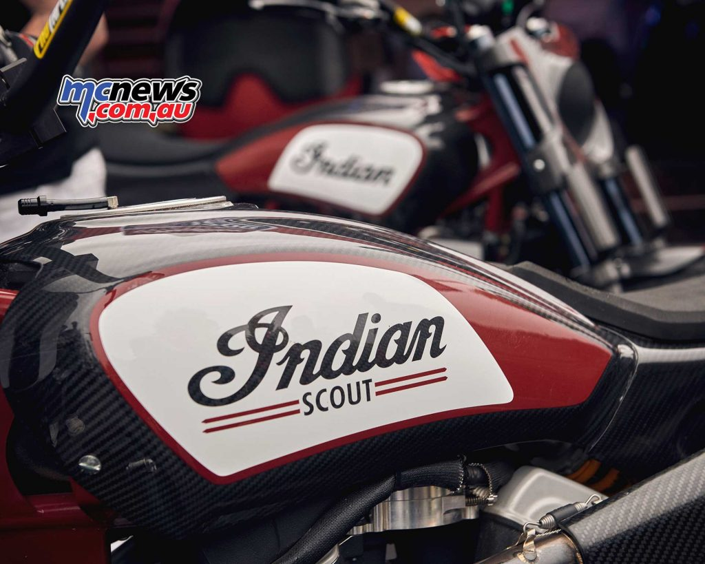 Indian Scout FTR Tank