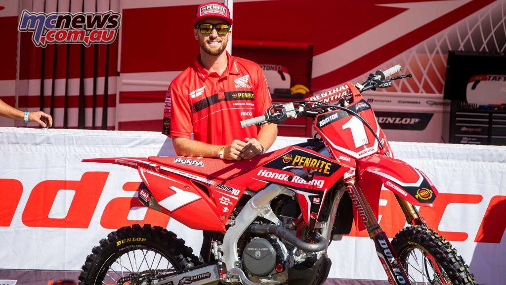 Justin Brayton Penrite Honda