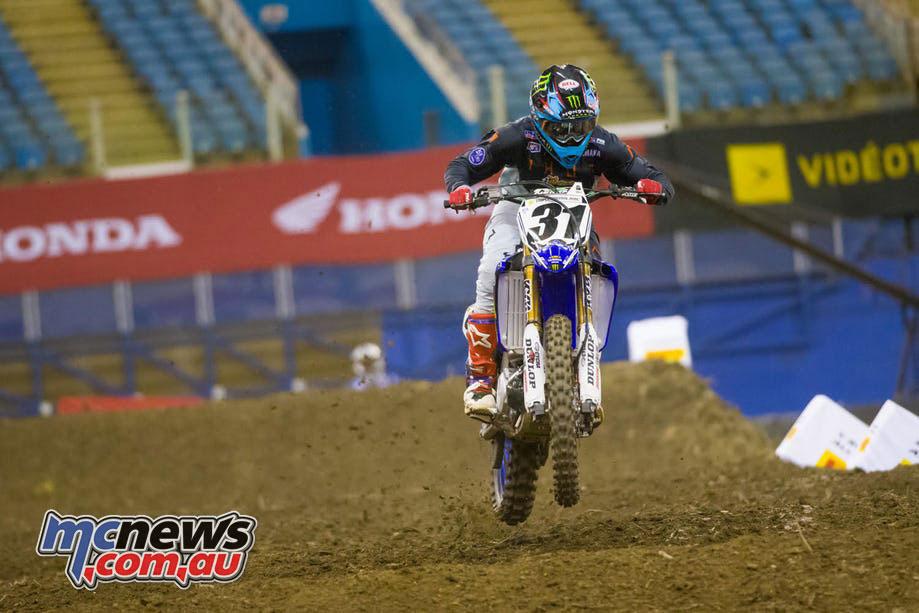 Montreal Supercross Colt Nichols
