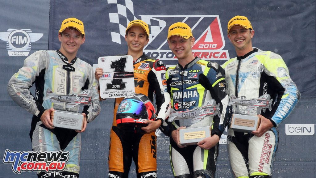 MotoAmerica Round Junior Cup NJMP Sunday