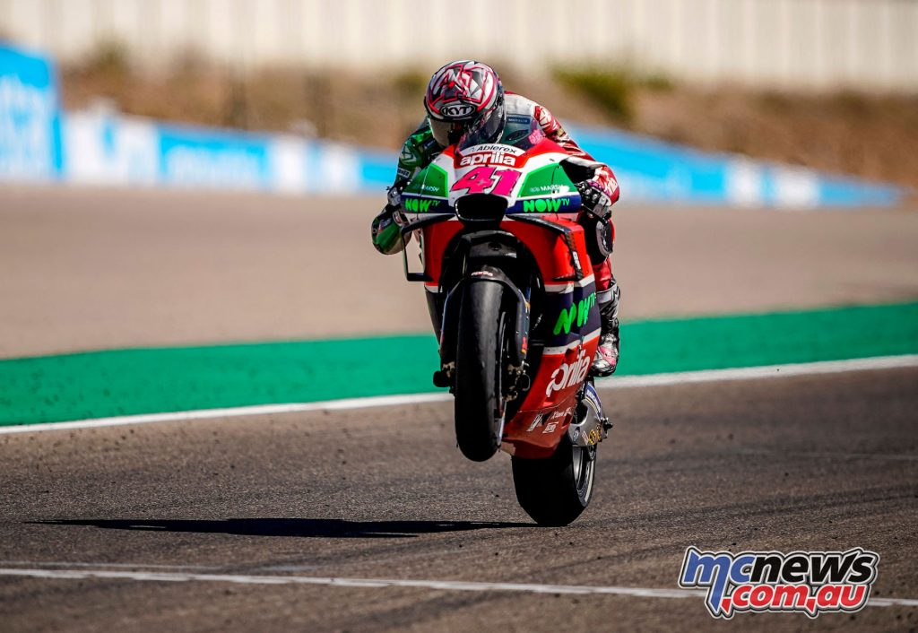 MotoGP Aragaon Rnd Aleix Espargaro