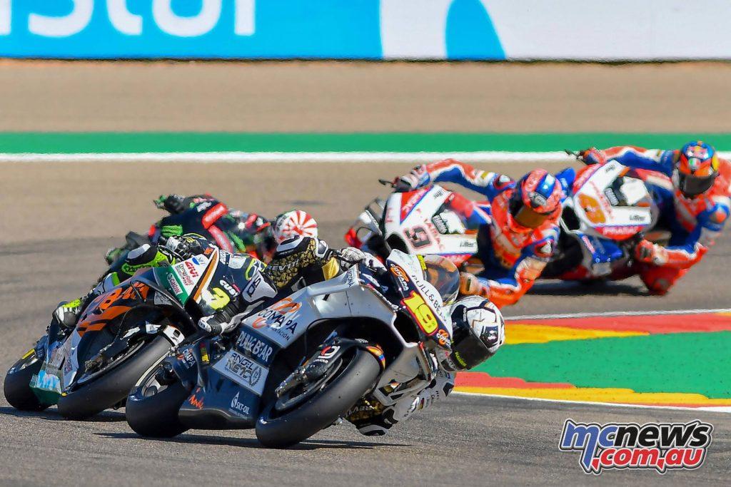 MotoGP Aragaon Rnd Bautista