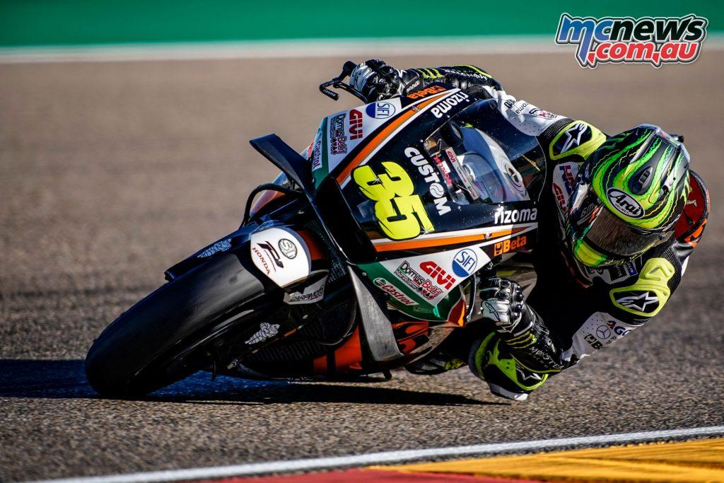 MotoGP Aragaon Rnd Cal Crutchlow AX