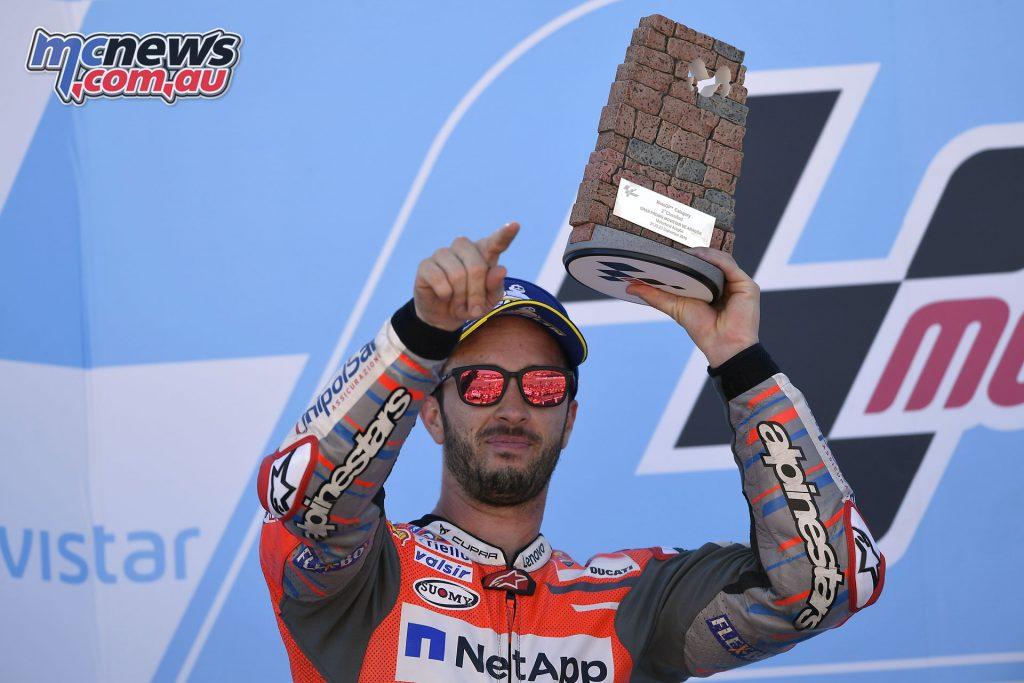 MotoGP Aragaon Rnd Dovizioso TIN