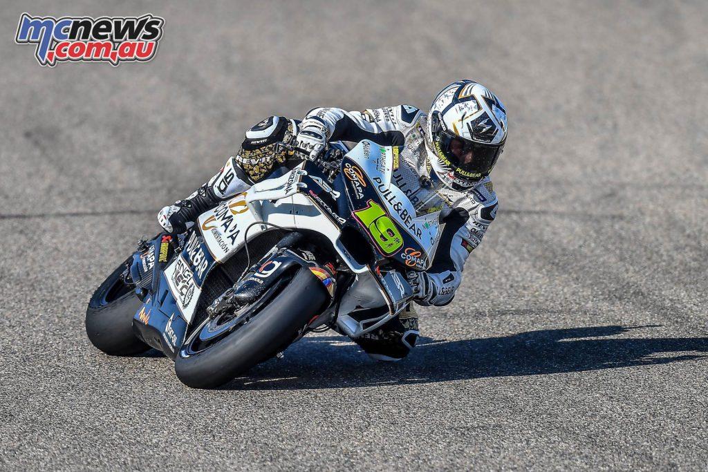 MotoGP Aragaon Rnd Fri Bautista