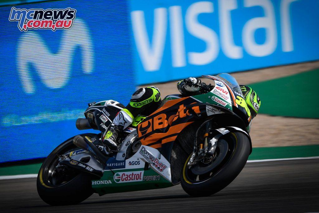 MotoGP Aragaon Rnd Fri Cal Crutchlow