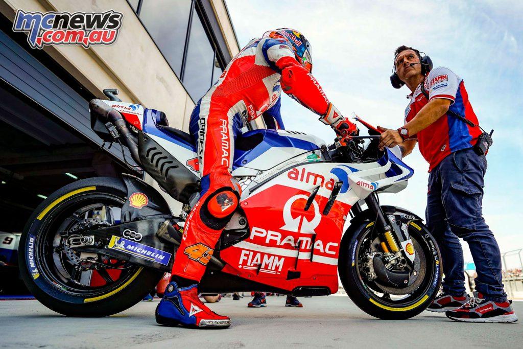 MotoGP Aragaon Rnd Fri Miller AX