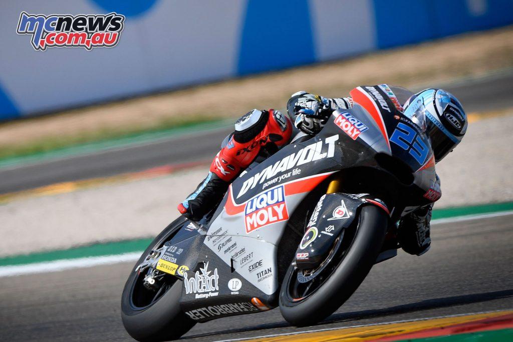MotoGP Aragaon Rnd Fri Moto Schrötter
