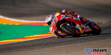MotoGP Aragaon Rnd Fri marc marquez gp
