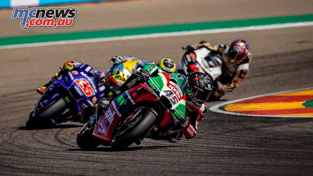 MotoGP Aragaon Rnd Redding