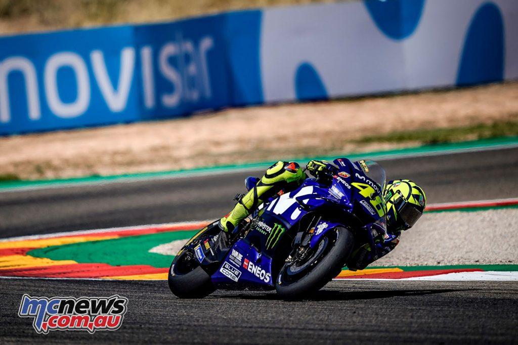 MotoGP Aragaon Rnd Rossi