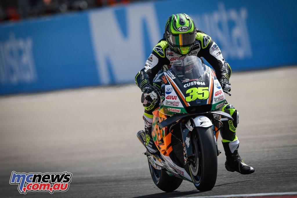 MotoGP Aragaon Rnd Sat Crutchlow