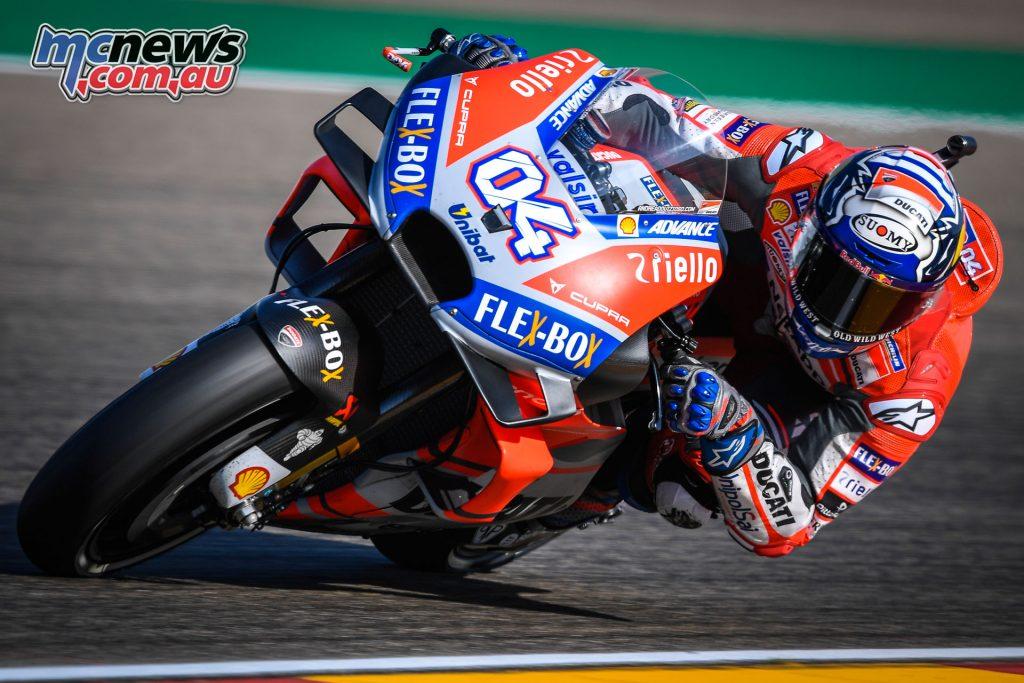 MotoGP Aragaon Rnd Sat Dovizioso