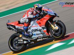 MotoGP Aragaon Rnd Sat Dovizioso G UC