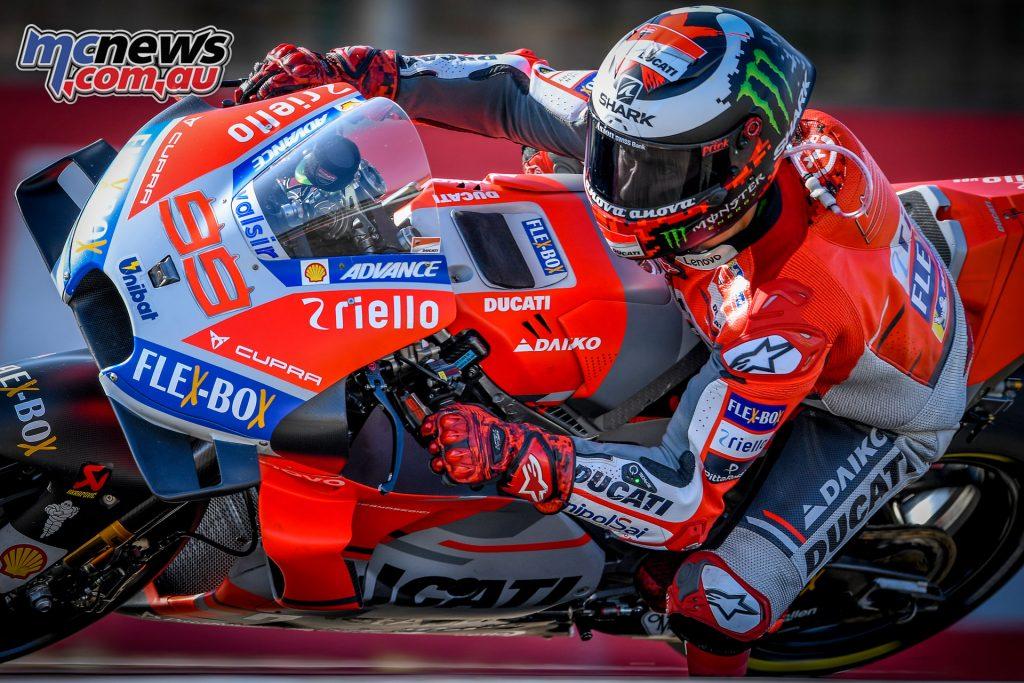 MotoGP Aragaon Rnd Sat Lorenzo