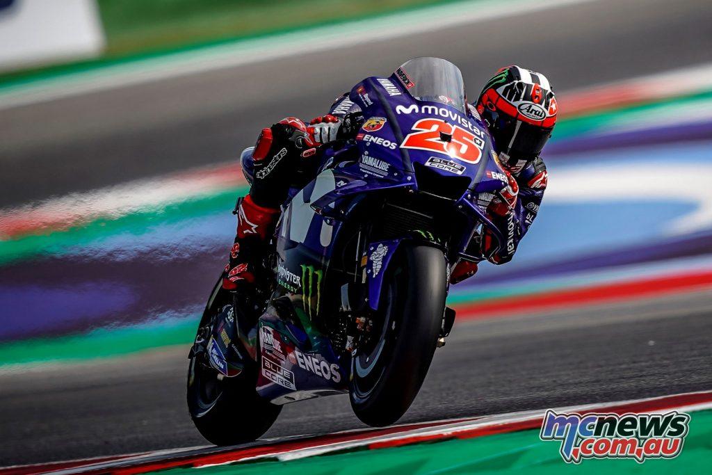 MotoGP Rnd Misano Day Maverick Vinales