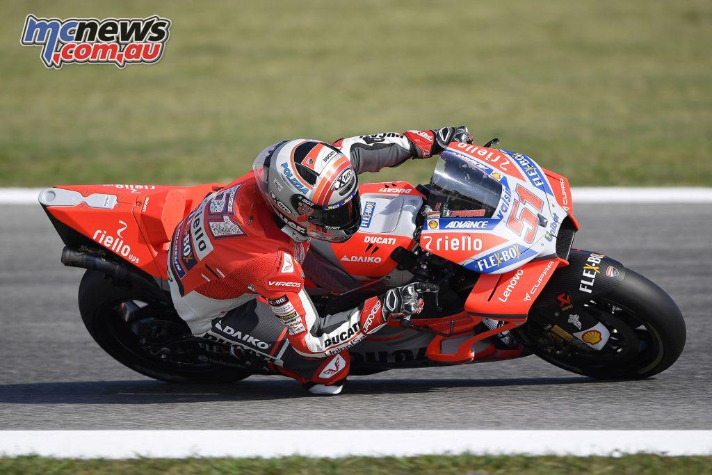 MotoGP Rnd Misano Day Michele Pirro