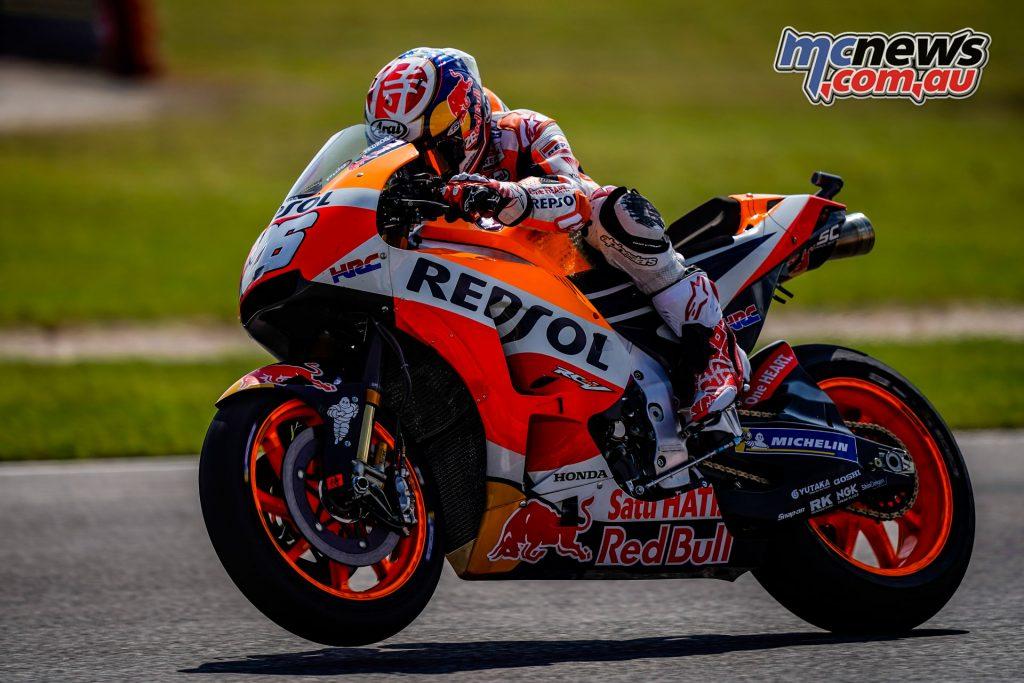 MotoGP Rnd Misano Day Dani Pedrosa
