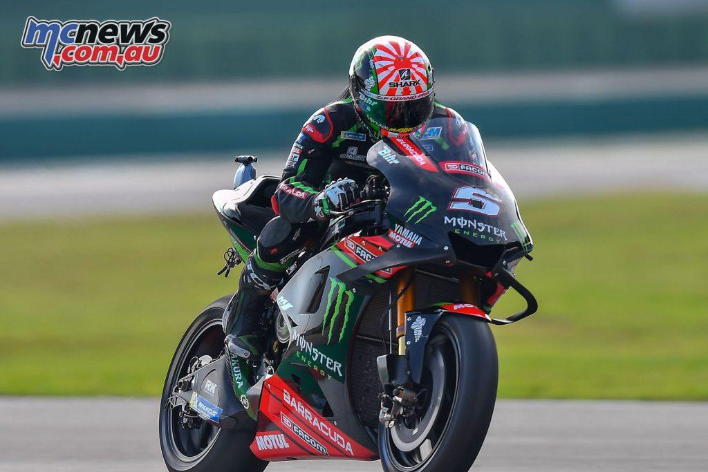 MotoGP Rnd Misano Day Johann Zarco