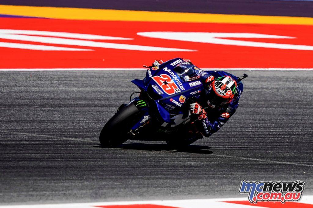MotoGP Rnd Misano Maverick Vinales