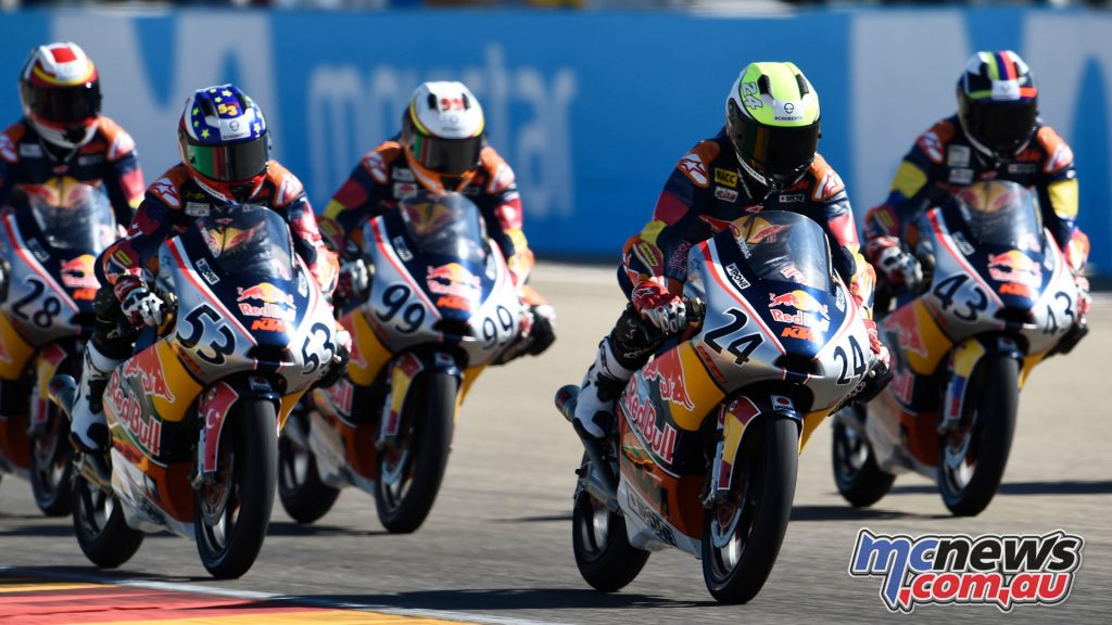 Red Bull Rookies MotoGP Cup Aragon Rnd Xavier Artigas