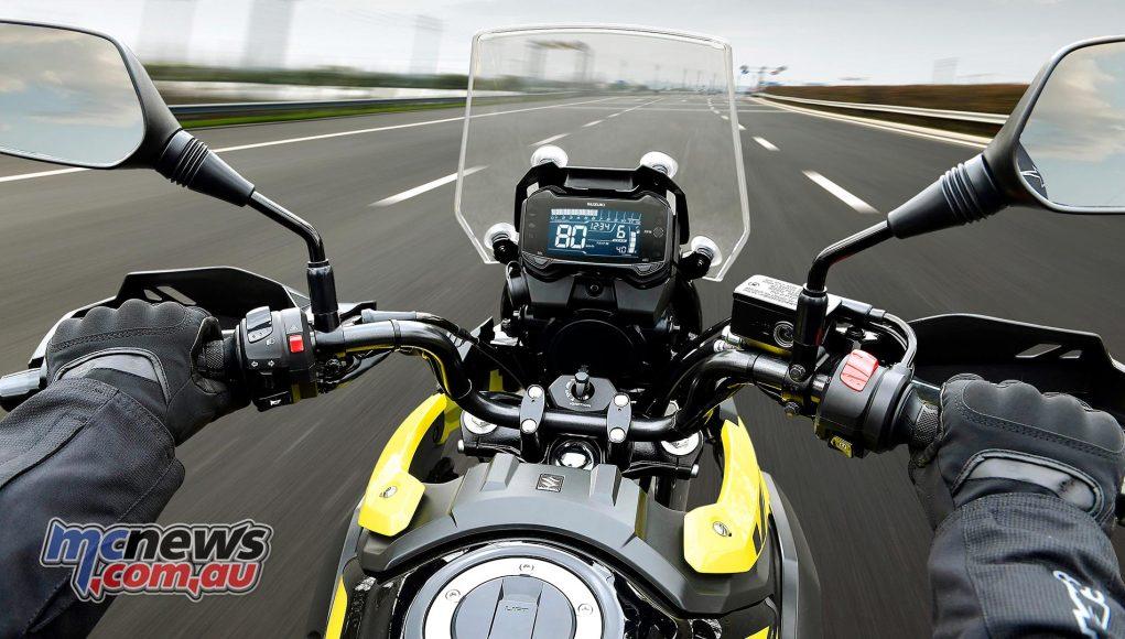 Suzuki DL V Strom Cockpit