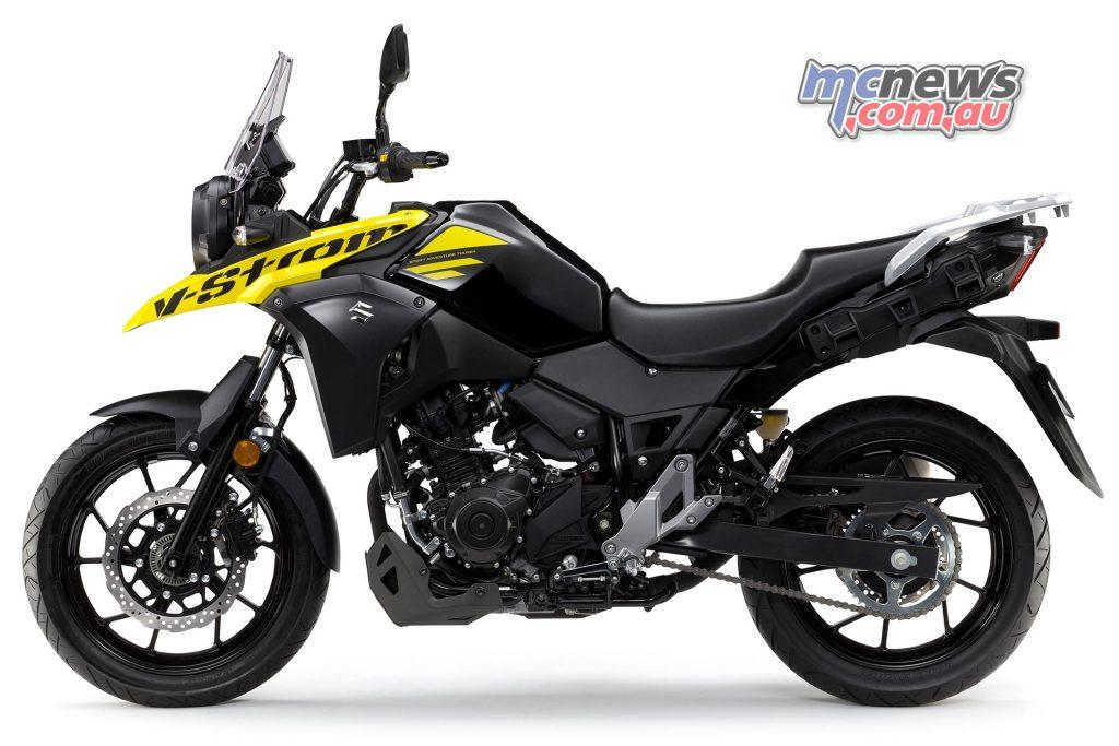 Suzuki DL V Strom LHS