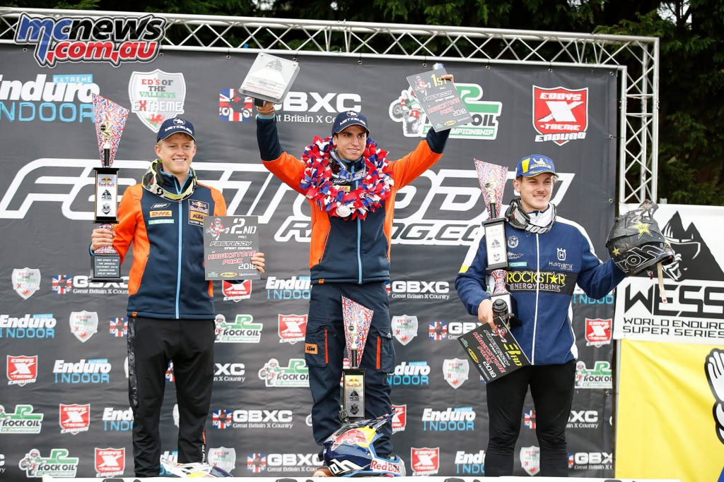 WESS Hawkstone Cross Country D Podium