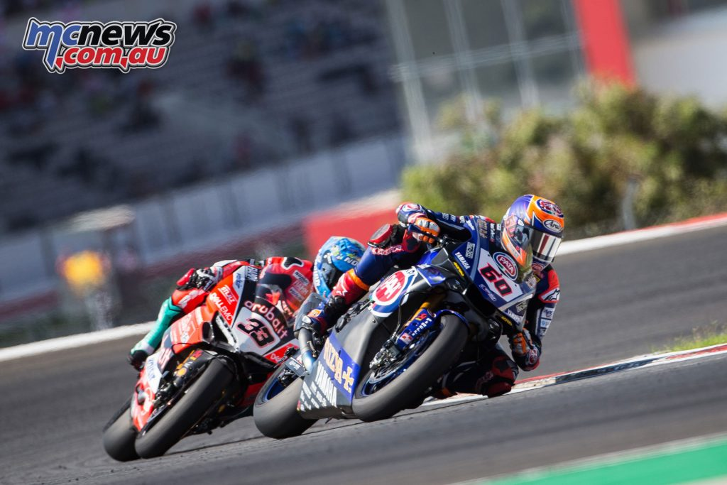 WorldSBK Rnd Portugal Michael van der Mark