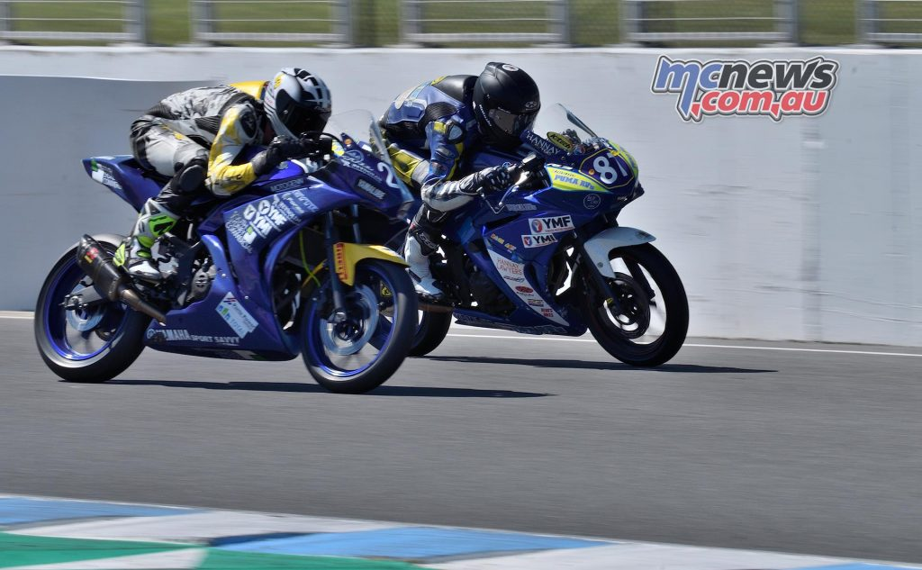ASBK Rnd Phillip Island RM R Hunter Ford Zac Levy