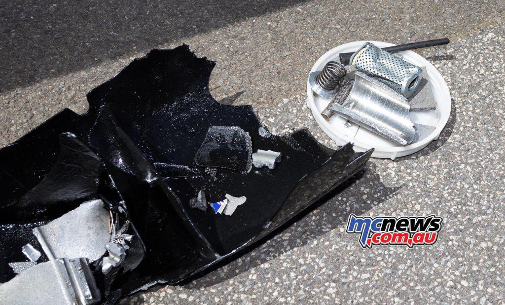 ASBK Rnd Phillip Island TBG Irving Vincent Engine Bits
