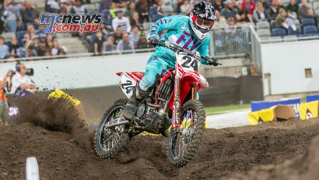 Australian Supercross Geeling TBG Brett Metcalfe