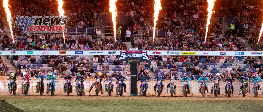 Australian Supercross Geeling TBG SX Start