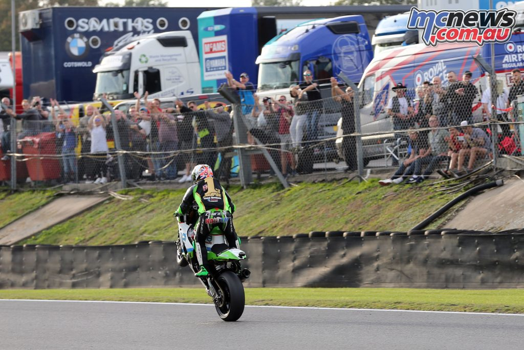 BSB Final Brands Sun Leon Haslam BSB Champion
